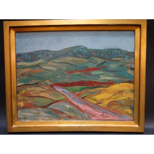 Anders Aldrin: Salinas Valley, Oil on Board - Image 6 of 7