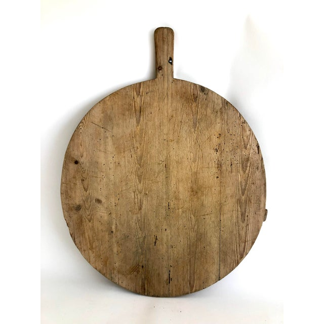 Vintage German Bread/ Charcuterie Board For Sale In Los Angeles - Image 6 of 6