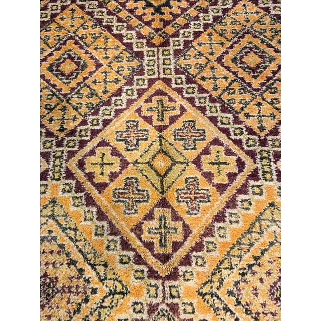 "Bellwether Rugs Mid-Century Beni Orin Moroccan Rug - 6'7"" X 10'9"" - Image 5 of 7"