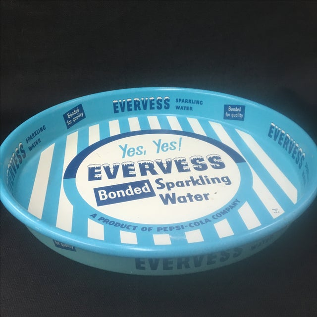 Vintage Advertising Tray, Evervess 1950's - Image 9 of 9
