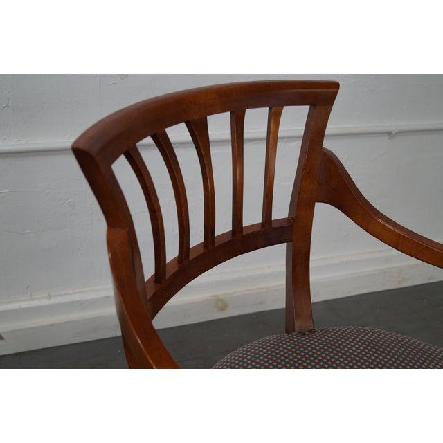 Baker Milling Road Biedermeier Style Chairs - Pair - Image 5 of 10