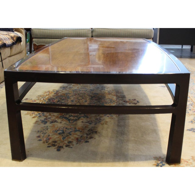 Mid-Century Modern Mid-Century Modern Wormley for Dunbar Rare Mahogany Rectangular Coffee Table For Sale - Image 3 of 13