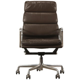 Charles and Ray Eames for Herman Miller Soft Pad Executive Desk Chair, Near Mint For Sale