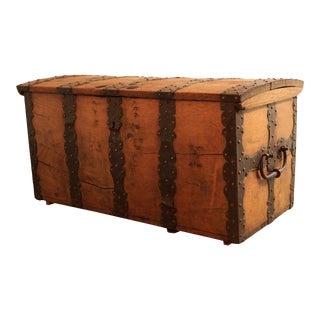 Late 19th Century Antique Danish Chest For Sale