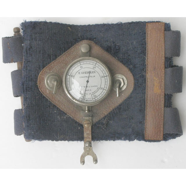 Antique 1920s French Blood Pressure Cuff - Image 2 of 3
