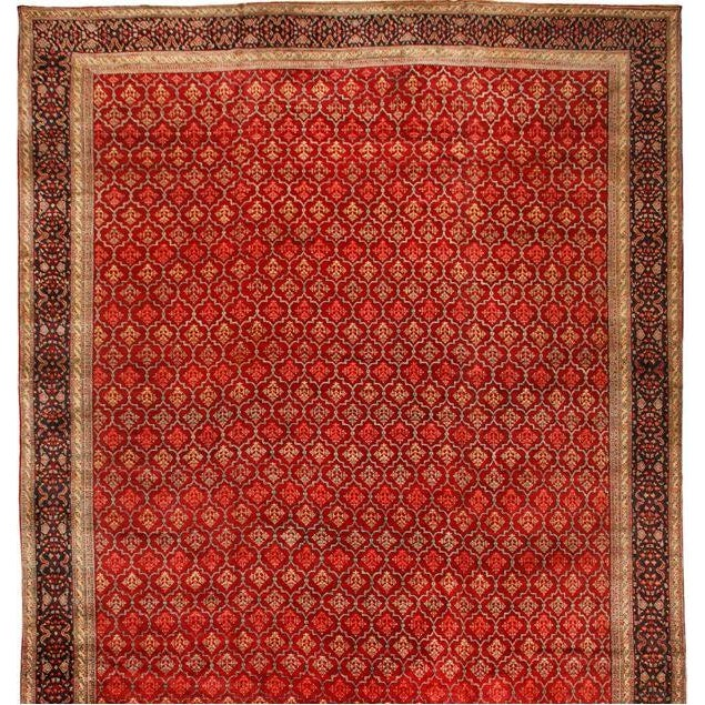 Exceptional Antique Agra Carpet - Image 1 of 1