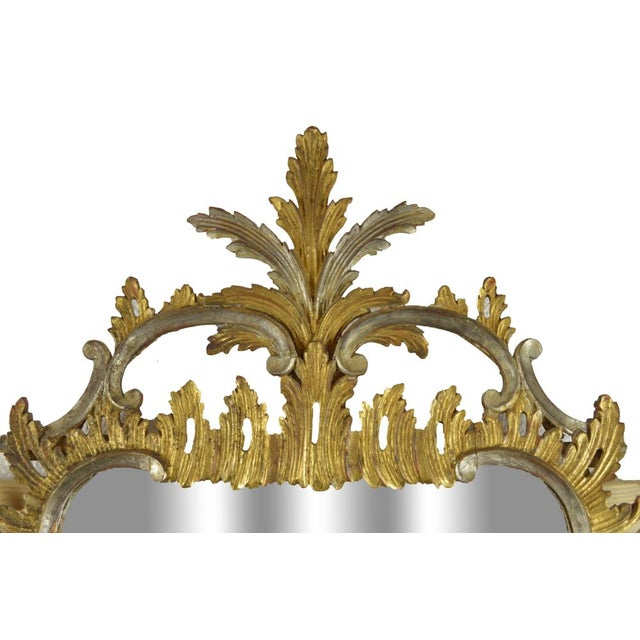 Carved Rococo Vintage Mirror - Gold & Silver Gilt - Image 2 of 7