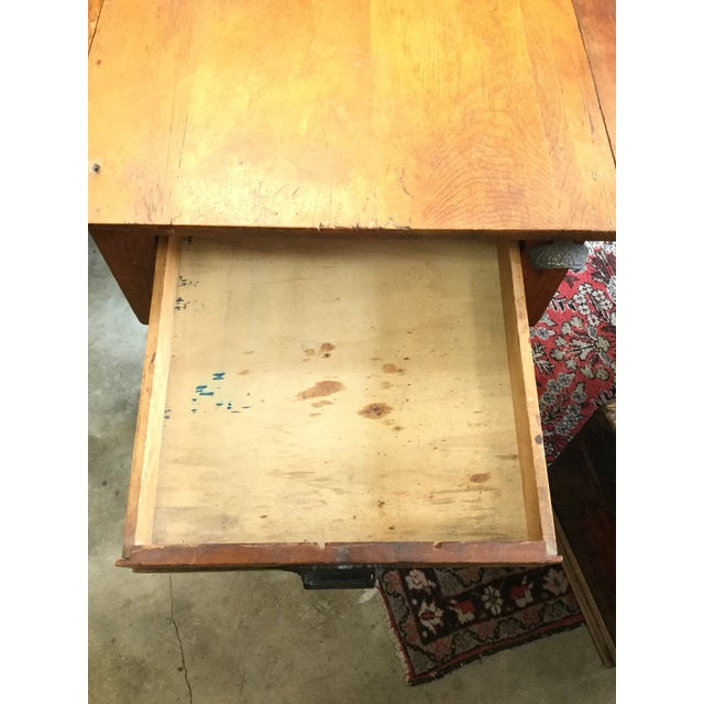 20th Century Country Flour Bin Table For Sale - Image 4 of 13