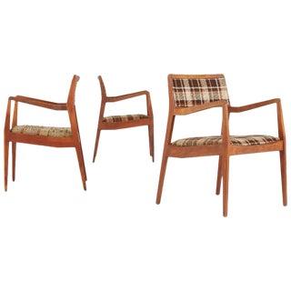 Jens Risom 'Playboy' Armchairs - Set of 3