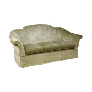 Century Green Custom Upholstered Sofa