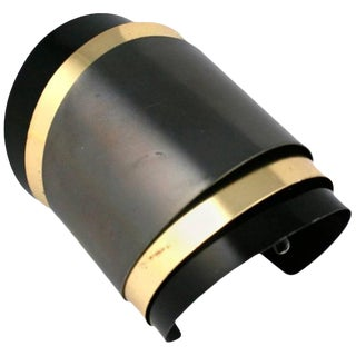 Unusual Hinged Tri Toned Bracelet For Sale