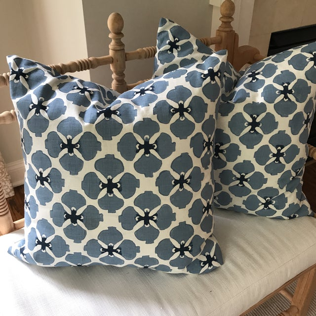 Galbraith and Paul Linen Pillows - A Pair - Image 6 of 8