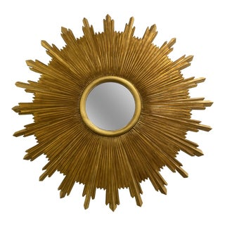 Carvers Guild Starburst Mirror For Sale