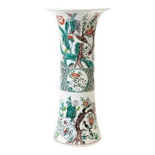 Bungalow 5 Sang Ku Form Base Green Vase For Sale