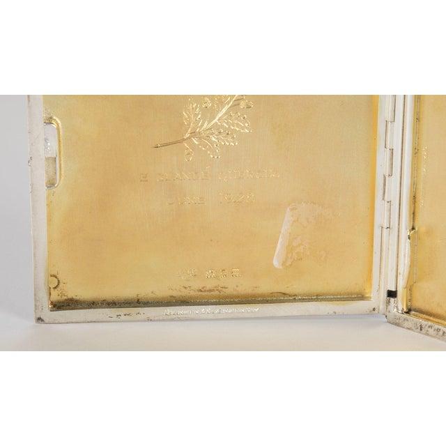 Silver Cigarette Box For Sale - Image 11 of 13