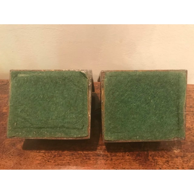 Art Deco Cast Metal Scottie Dog Bookends - A Pair For Sale In Atlanta - Image 6 of 7