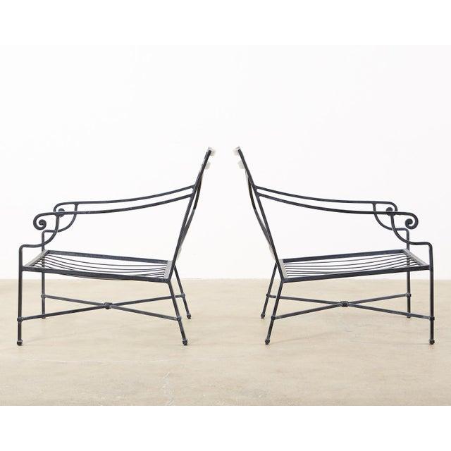 Brown Jordan Venetian Patio Lounge Chairs - Set of 10 For Sale - Image 9 of 11