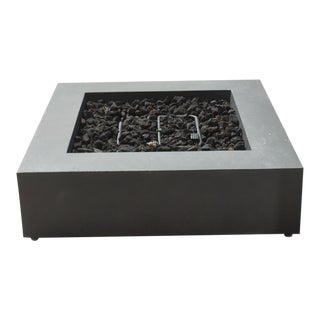 Restoration Hardware Fire Table and Propane Tank Cover