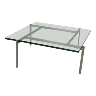 Architecturally Themed Coffee Table by Poul Kjaerholm