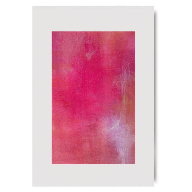 Pink Lemonade Original Modern Abstract Painting - Image 5 of 5