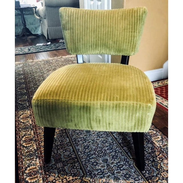 Lee Industries Chairs- A Pair For Sale - Image 11 of 12