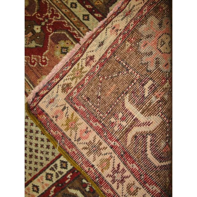 Vintage Handmade Tribal Rug - 3′6″ × 5′9″ For Sale - Image 4 of 5