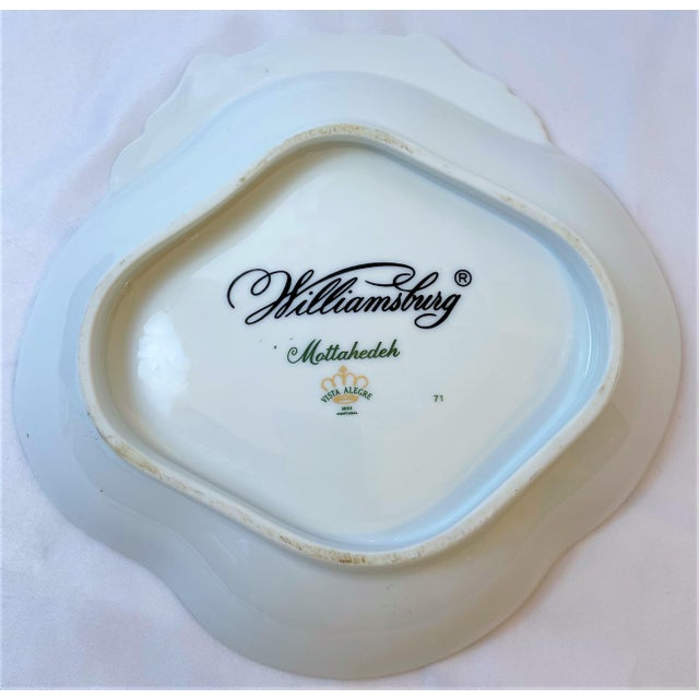 Vintage Mottahedeh Chelsea Bird Shell Bowl For Sale - Image 9 of 10