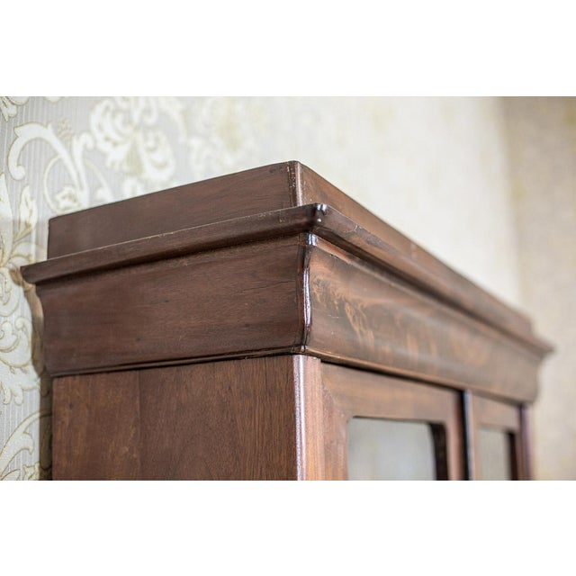 Brown Biedermeier Bookcase, Circa 1850 For Sale - Image 8 of 13