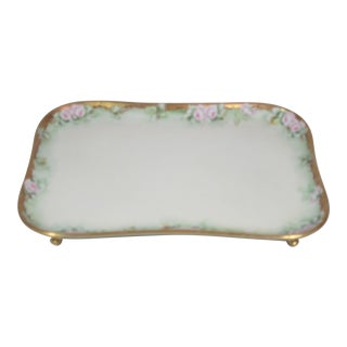 Limoges Footed Dresser Tray
