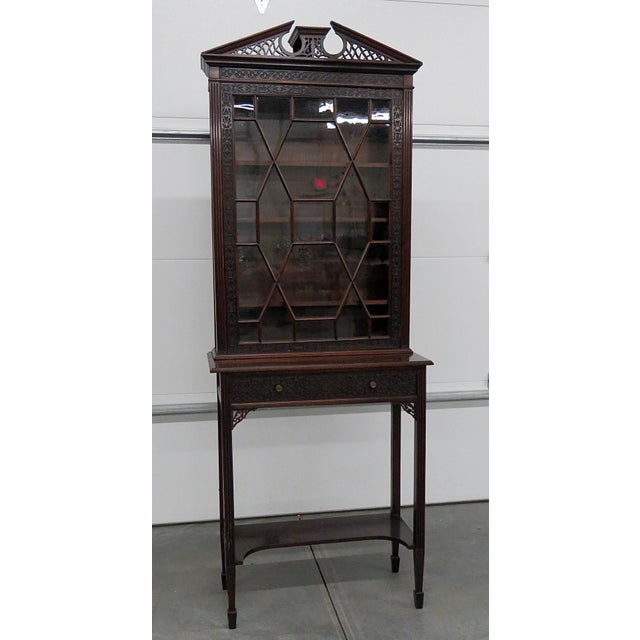 19thC Georgian Collectors Cabinet For Sale - Image 12 of 12