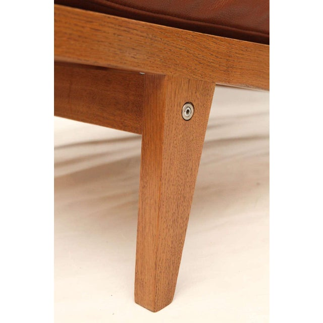 Pair of Hans Wegner GE-375 Lounge Chairs - Image 5 of 10