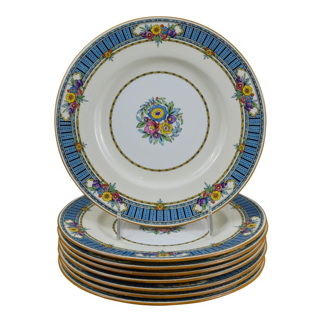 Vintage Minton Luncheon Plates - Set of 8 - Image 1 of 11