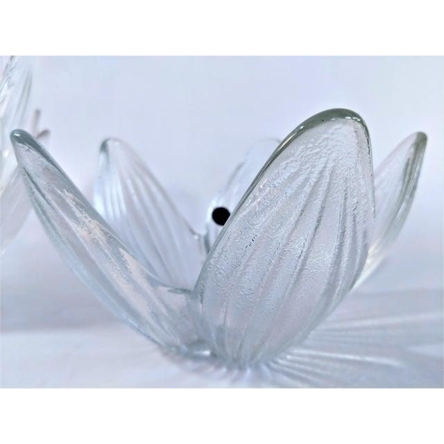 Transparent Rosenthal Studio Line Bleikristall German Glass Flower Petal Bowls - Set of 10 For Sale - Image 8 of 13