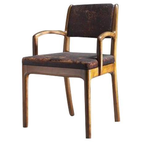 Devon Dennett Unique American Craftsman Armchair, 1938 For Sale
