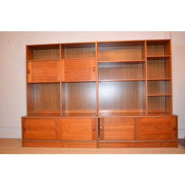 2-Piece Danish Modern Bookcase - Image 2 of 10