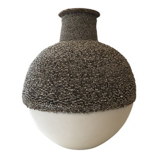Contemporary Beaded Urn For Sale