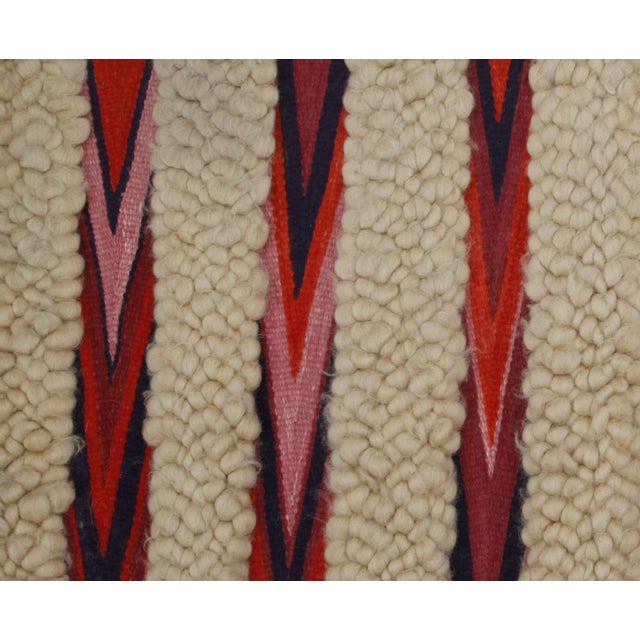 1960s Vintage Wool & Flatweave Wall Hanging - Image 3 of 4