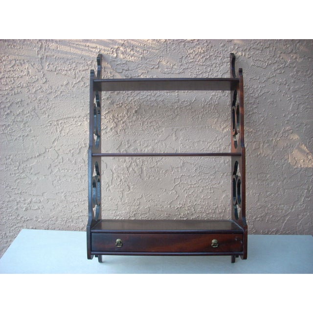 Traditional Hanging Wall Shelf For Sale - Image 3 of 7
