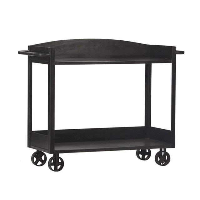 Industrial Industrial Gunmetal Cart For Sale - Image 3 of 3