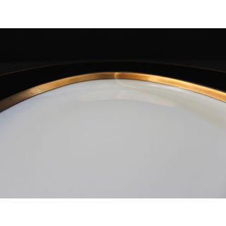 1980s Renaissance Black on White Oval Serving Platter by Fitz & Floyd Preview