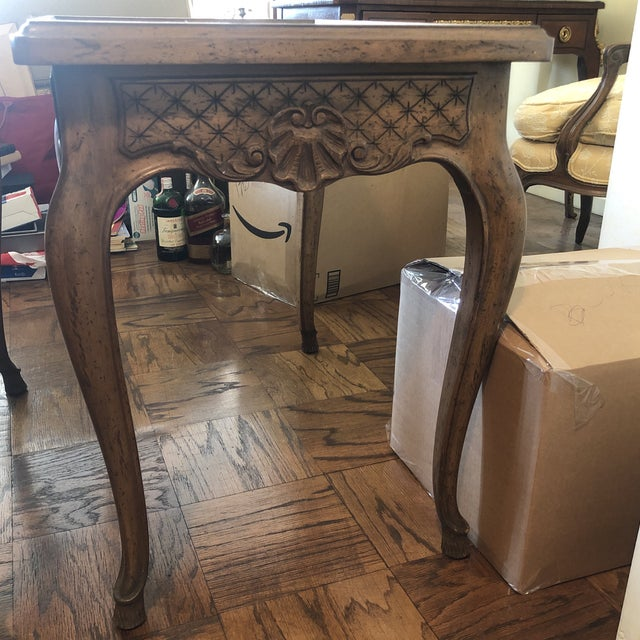 French 1960s French Style End Tables - a Pair For Sale - Image 3 of 11