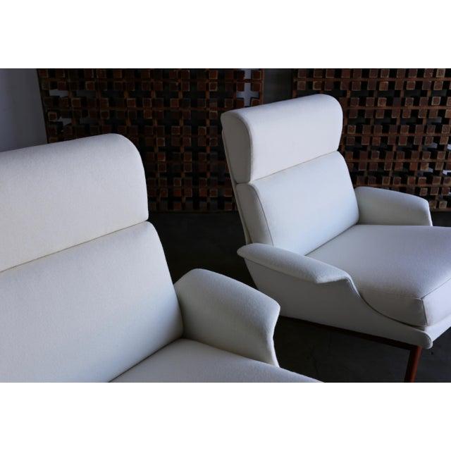 "Ib Kofod-Larsen ""Adam"" Lounge Chairs for Mogens Kold Møbelfabrik Circa 1960 - a Pair For Sale - Image 11 of 13"