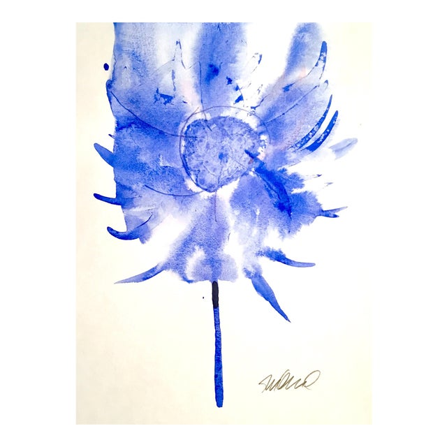 'Swiffer' Botanical Watercolor Painting - Image 1 of 3
