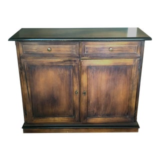 Italian Sideboard With Aged Finish For Sale