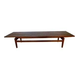1960s Mid-Century Modern Jens Risom Floating Top Table