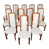 Image of Mid-Century Danish Dining Chairs- Set of 12 For Sale