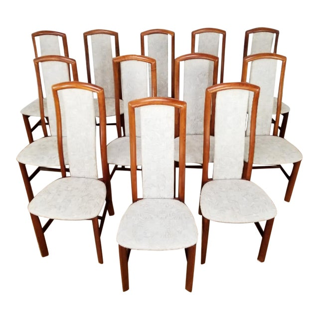 Mid-Century Danish Dining Chairs- Set of 12 For Sale