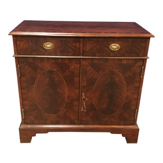 Leighton Hall Traditional Mahogany Server For Sale