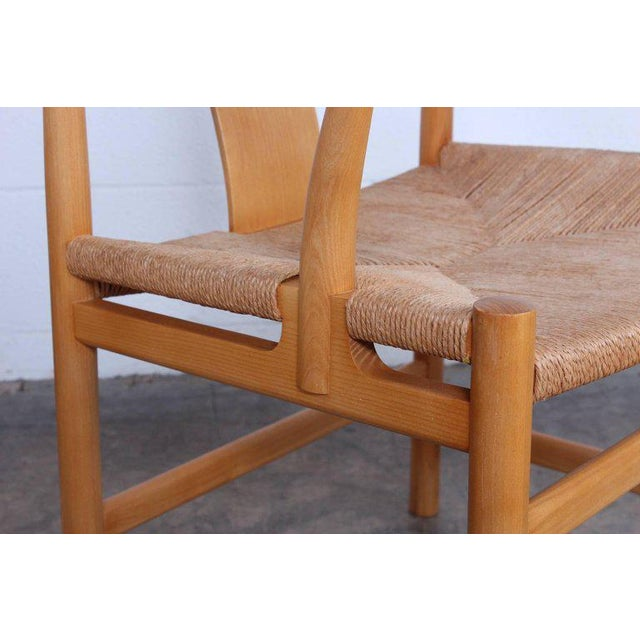 Oak Six Chinese Chairs by Hans Wegner for PP Mobler For Sale - Image 7 of 11