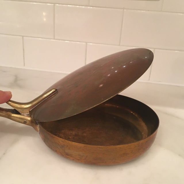 """This is a Carl Auböck silent butler. Very unique piece. Usually made of copper, brass, or aluminum, a silent butler is """"a..."""